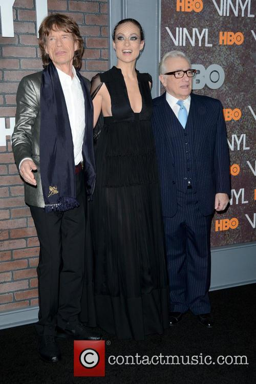 Mick Jagger, Olivia Wilde and Martin Scorsese 9