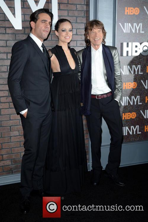 Bobby Cannavale, Olivia Wilde and Mick Jagger 2