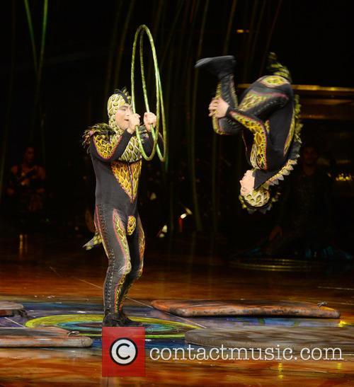 Cirque du Soleil perform Amaluna