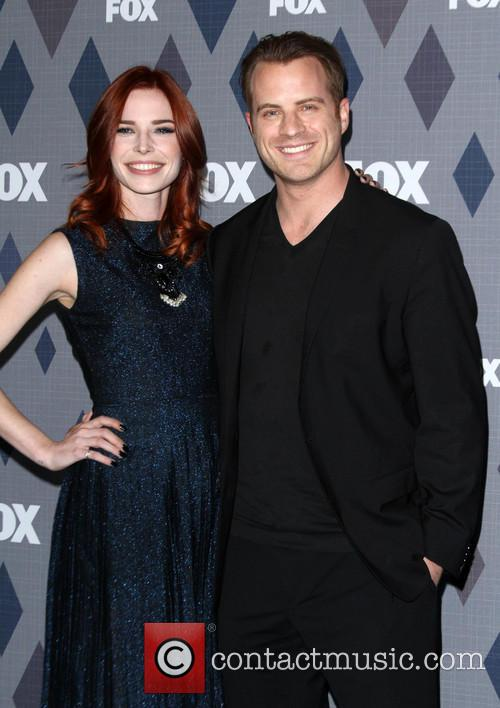 Chloe Dykstra and Robert Kazinsky 2