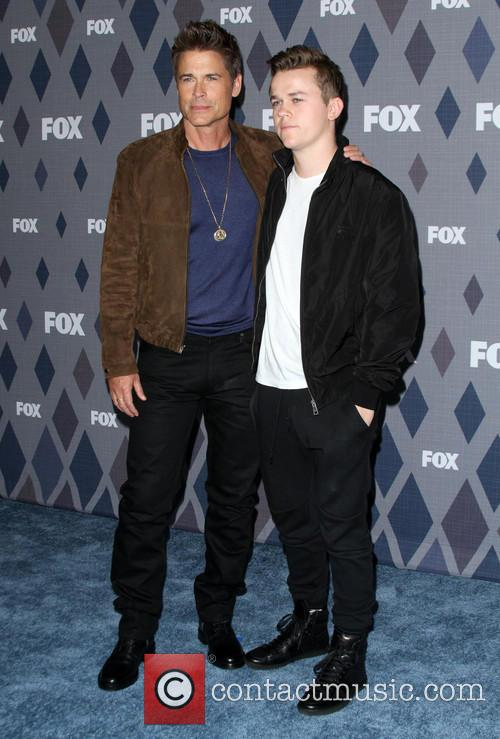 Rob Lowe and Matthew Edward Lowe 3