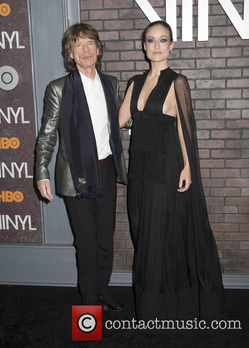 Mick Jagger and Olivia Wilde 3