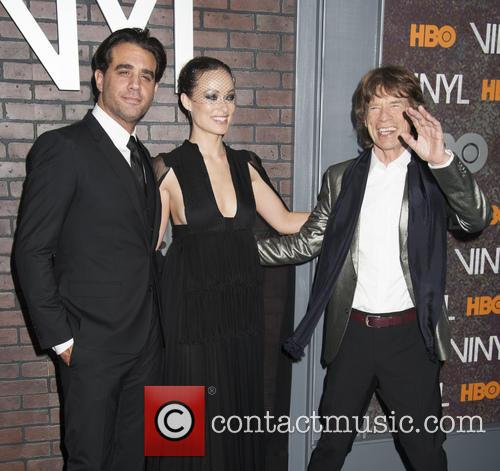 Bobby Cannavale, Olivia Wilde and Mick Jagger 1