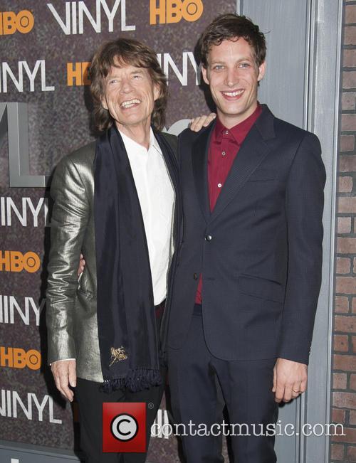 Mick Jagger and James Jagger 4