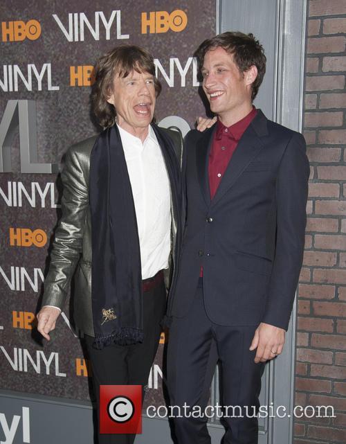 Mick Jagger and James Jagger 5