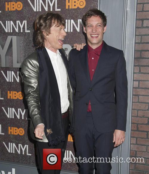 Mick Jagger and James Jagger 7