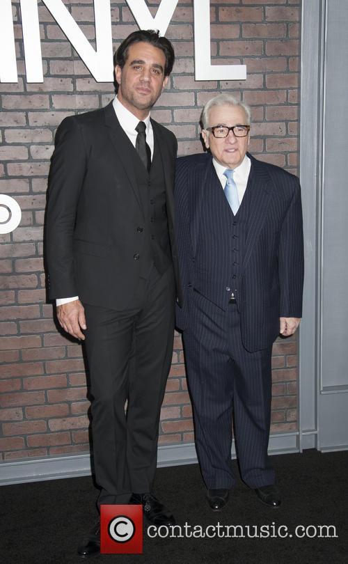 Bobby Cannavale and Martin Scorsese 2