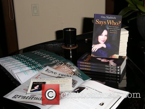 Book Release Party for Ora Nadrich's Says Who?...