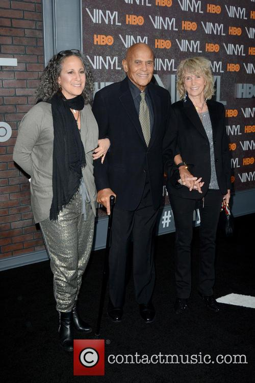 Gina Belafonte and Harry Belafonte 1