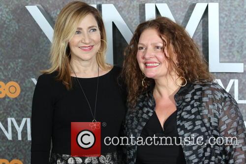 Edie Falco and Aida Turturro 4