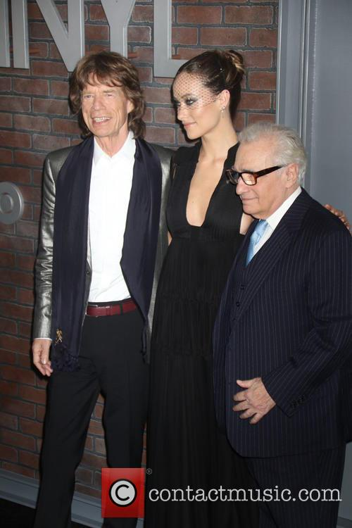 Mick Jagger, Olivia Wilde and Martin Scorsese 5
