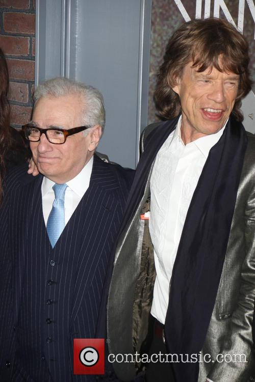 Mick Jagger and Martin Scorsese 6