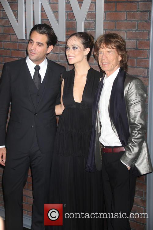 Mick Jagger, Olivia Wilde and Bobby Cannavale 7