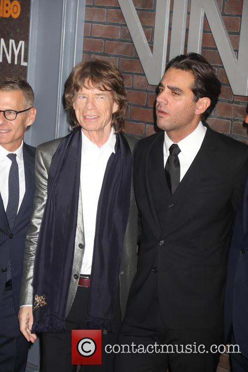 Mick Jagger and Bobby Cannavale 8