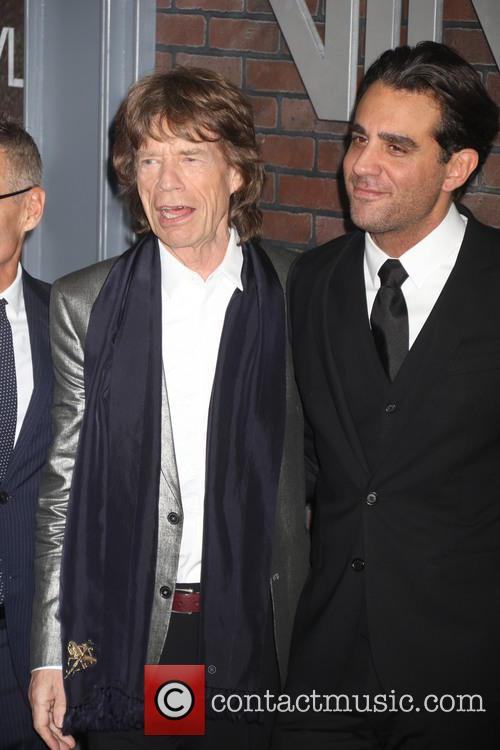 Mick Jagger and Bobby Cannavale 9