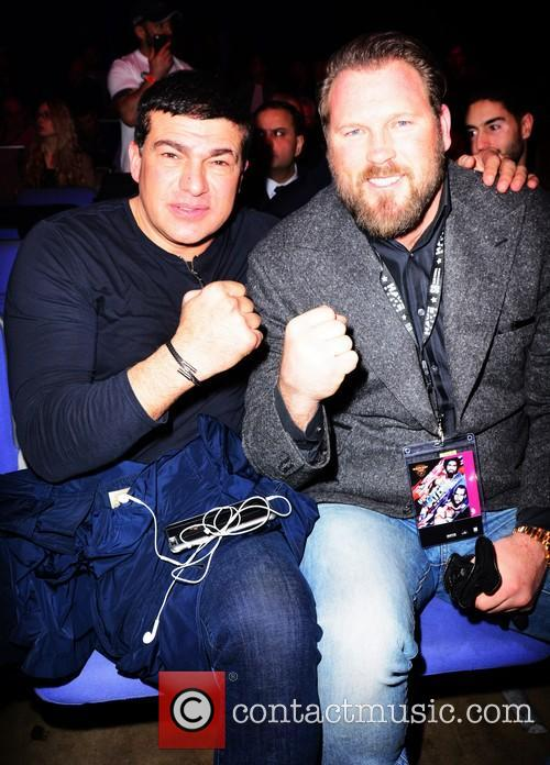 David Haye, Tamar Hassan and Scott Welch 6