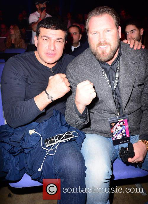David Haye, Tamar Hassan and Scott Welch 7
