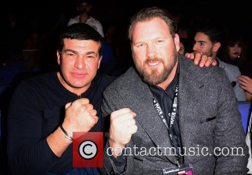 David Haye, Tamar Hassan and Scott Welch 10