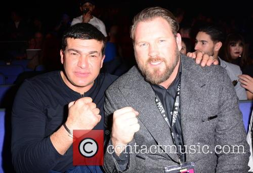 David Haye, Tamar Hassan and Scott Welch 11