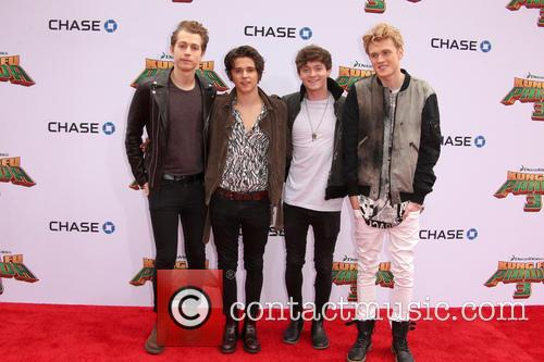 Connor Ball, Tristan Evans, James Mcvey and Brad Simpson 1