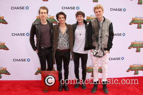 Connor Ball, Tristan Evans, James Mcvey and Brad Simpson 2