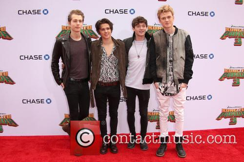 Connor Ball, Tristan Evans, James Mcvey and Brad Simpson 3