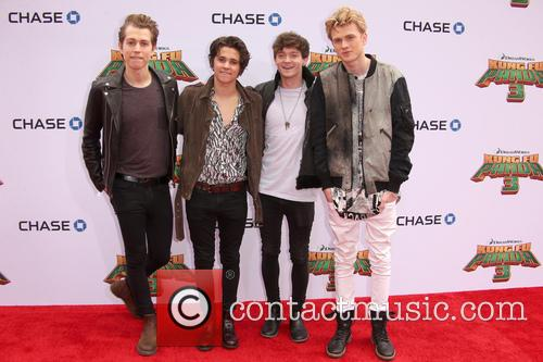 Connor Ball, Tristan Evans, James Mcvey and Brad Simpson 4