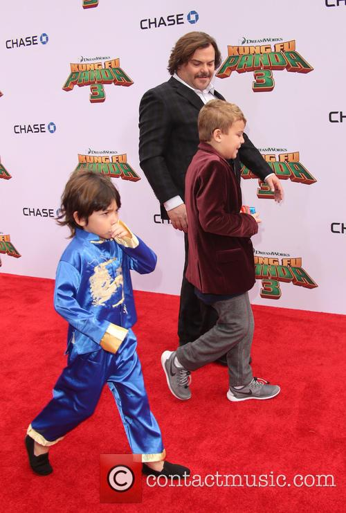 Jack Black, Thomas David Black and Samuel Jason Black 1