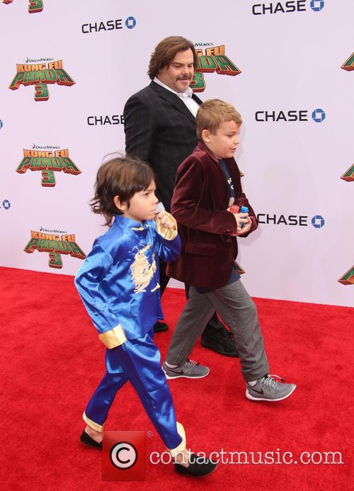 Jack Black, Thomas David Black and Samuel Jason Black 2