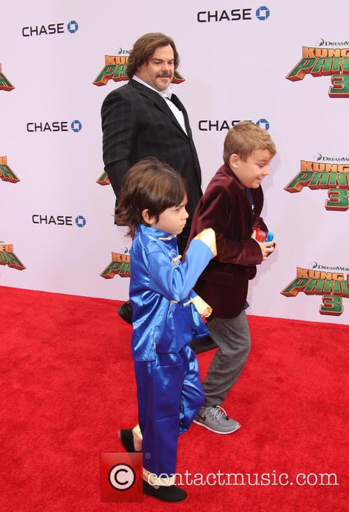 Jack Black, Thomas David Black and Samuel Jason Black 3