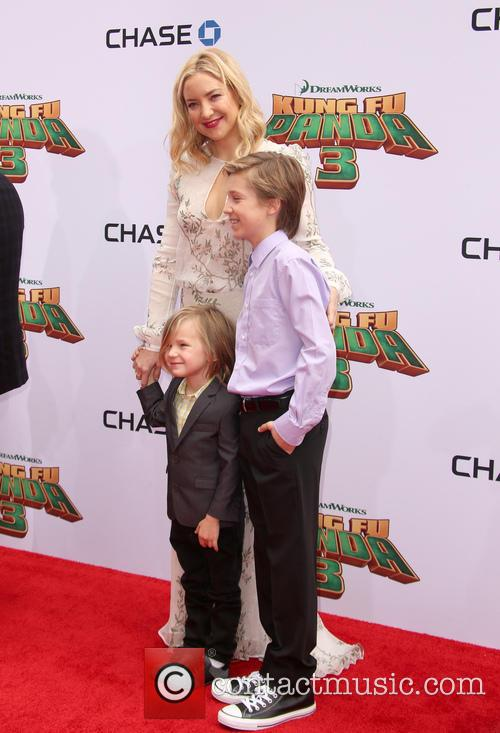 Kate Hudson, Ryder Robinson and Bingham Hawn Bellamy 1
