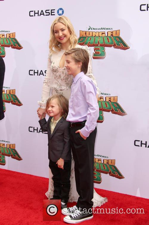 Kate Hudson, Ryder Robinson and Bingham Hawn Bellamy 2