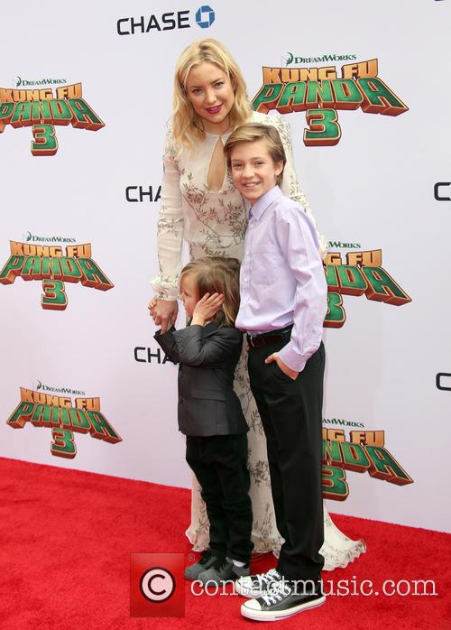 Kate Hudson, Ryder Robinson and Bingham Hawn Bellamy 3