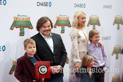 Samuel Black, Jack Black, Kate Hudson, Ryder Robinson and Bingham Bellamy 1