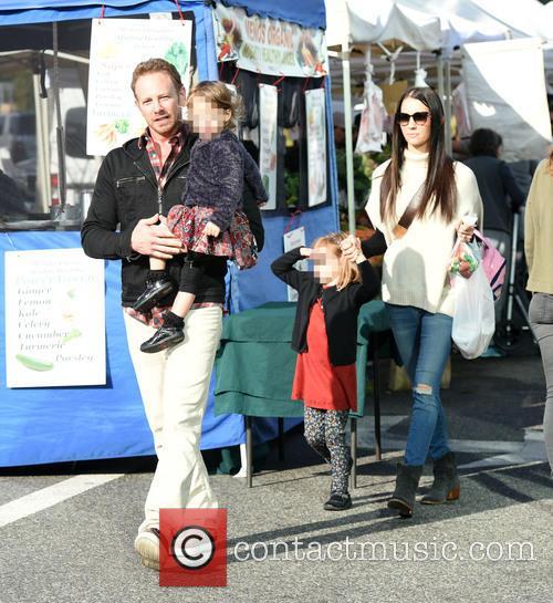 Ian Ziering, Erin Kristine Ludwig, Mia Ziering and Penna Ziering 2