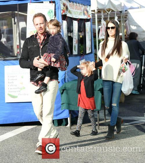 Ian Ziering, Erin Kristine Ludwig, Mia Ziering and Penna Ziering 3