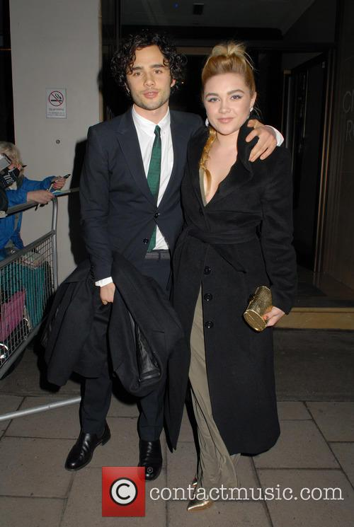 Toby Sebastian and Florence Pugh 2