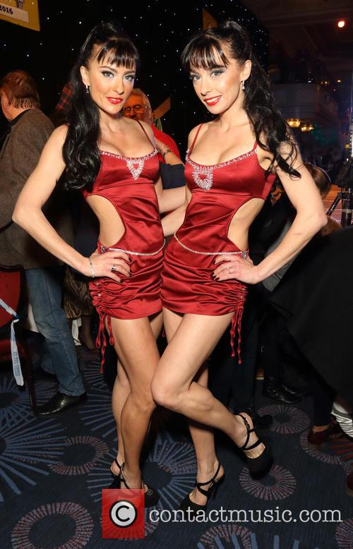 The Cheeky Girls, Gabriela Irimia and Monica Irimia 2