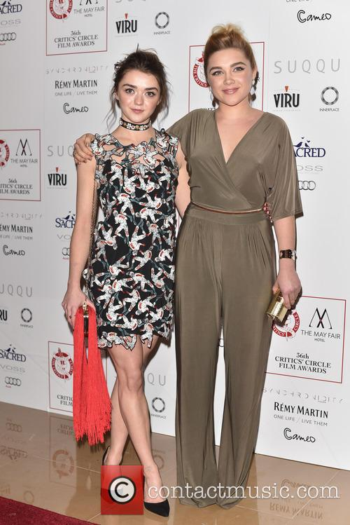 Maisie Williams and Florence Pugh 5
