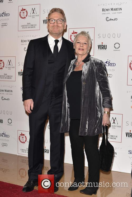 Kenneth Branagh and Dame Judi Dench 2