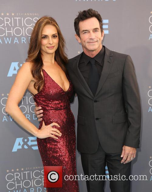 Lisa Ann Russell and Jeff Probst 2