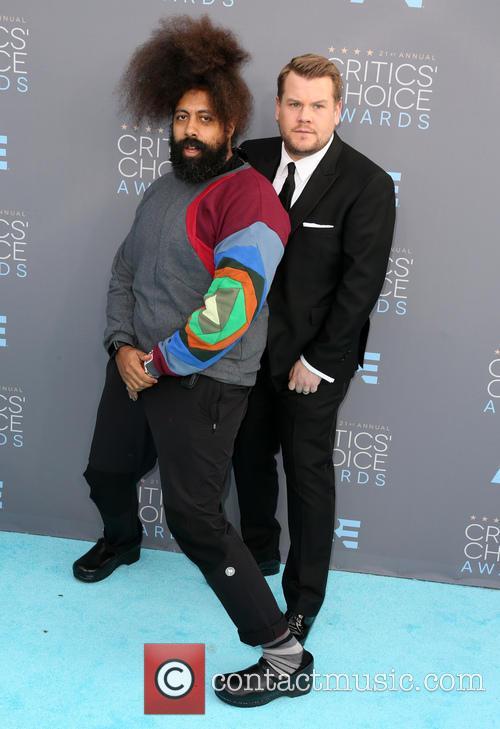 James Corden and Reggie Watts 3