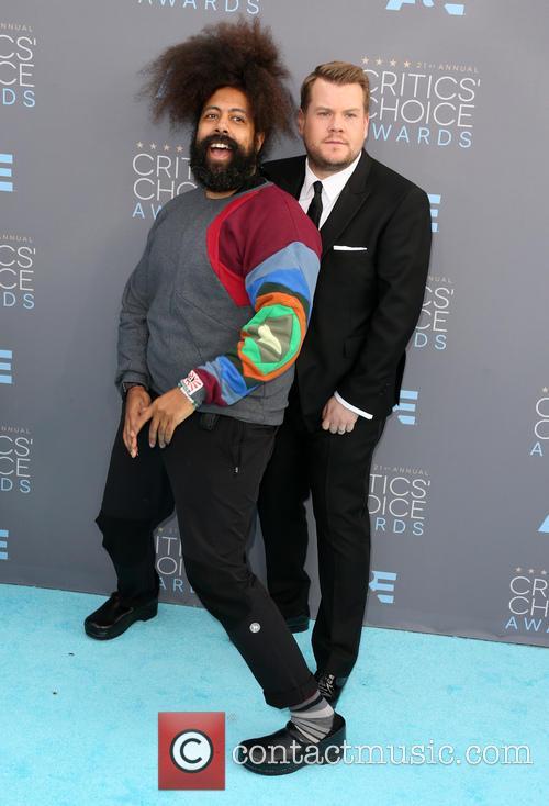 James Corden and Reggie Watts 4
