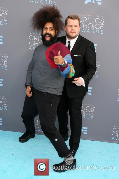 James Corden and Reggie Watts 5