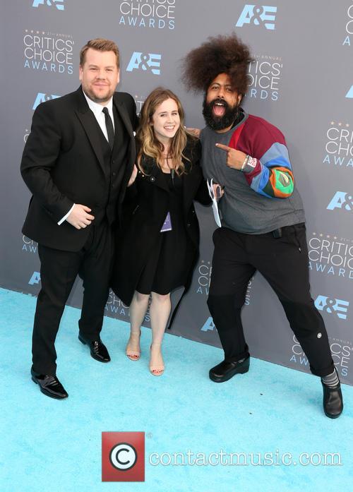 James Corden, Julia Rosen and Reggie Watts 9