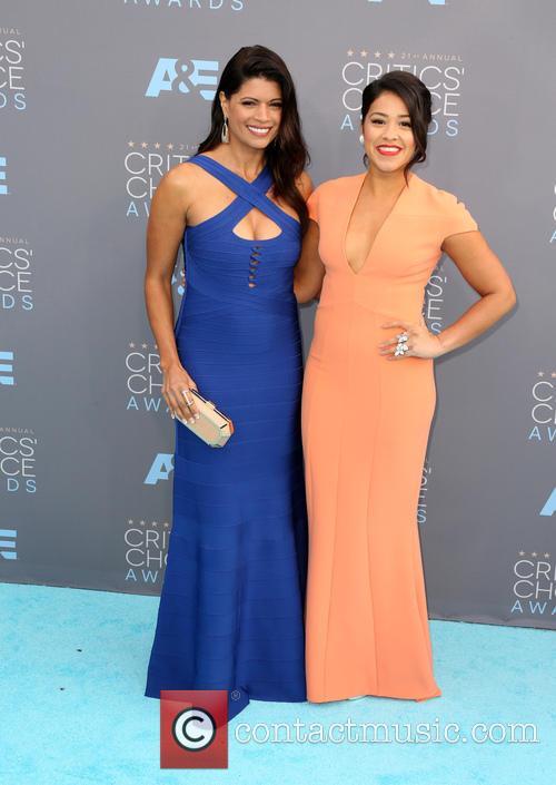 Andrea Navedo and Gina Rodriguez 7