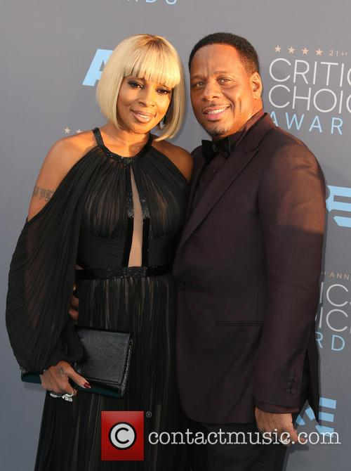 Mary J. Blige and Kendu Isaacs 5