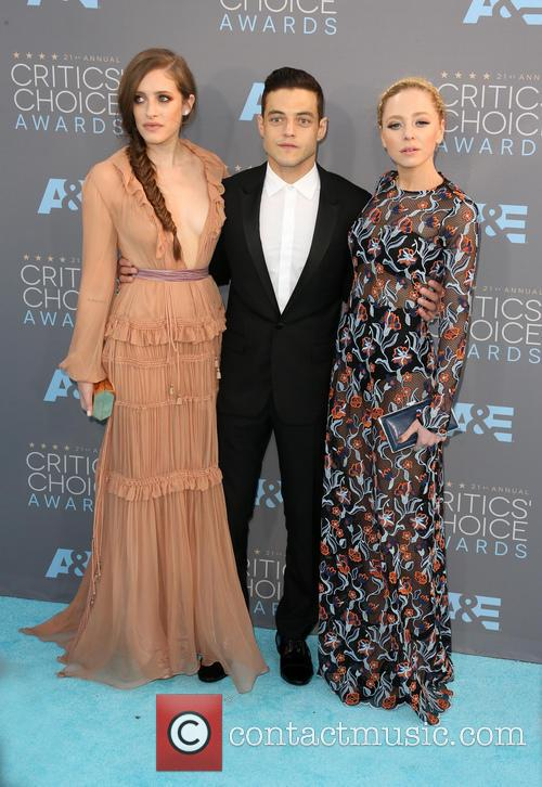 Carly Chaikin, Rami Malek and Portia Doubleday 5