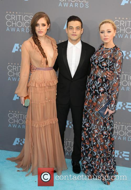 Carly Chaikin, Rami Malek and Portia Doubleday 6