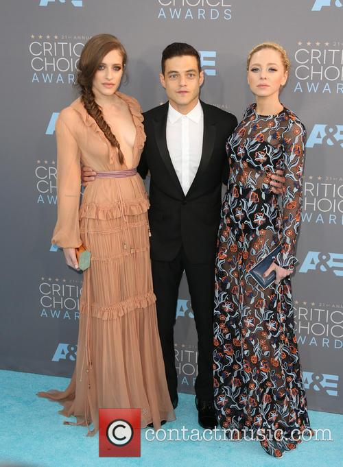Carly Chaikin, Rami Malek and Portia Doubleday 7